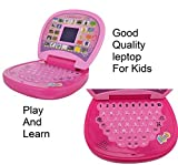 #9: Pihu Kids Laptop, LED Display, with Music,Educational Laptop with Led Screen, Multi Color + ( free magnetic magic slate education learning ) for kids boy & girl best offer