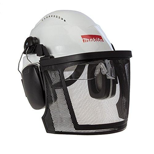 Makita p-54140Sicherheit Helm mit Visier, mehrfarbig