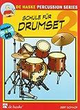 Schule für Drumset, m. Audio-CD (Band 2) - Gert Bomhof