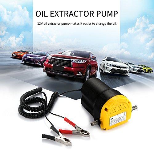ONEVER Olio Extractor Pompa Olio Motore Diesel Pompa estrattore estrattore Fluid Transfer Oil 12V Diesel scavenging di aspirazione dell'automobile del Carburante elettrica (1PC)