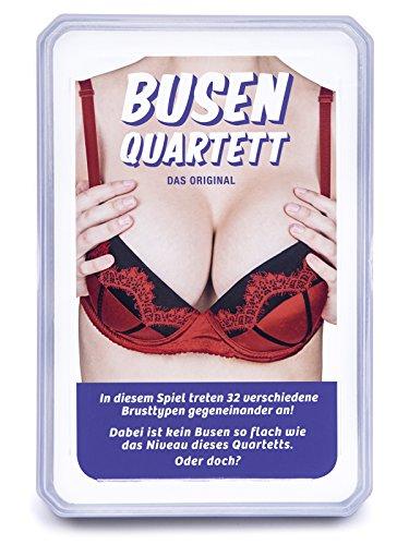 Quartett mit Busen - BUSENQUARTETT - Das Brüste Trinkspiel mit allem Anderen als Niveau