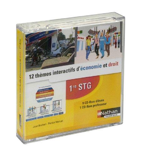 Boitier 12 Themes Int Éco Droit (10 CD) par Collectif (Broché)