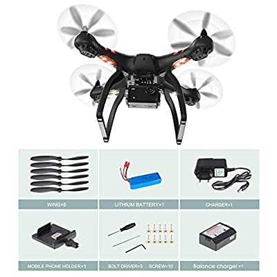 Bayang RC X22Dual GPS Brushless ESC 1080P WiFi Image Transfer Air Photography RC Quadcopter Drone 2D Holder Version