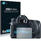 6x Film Protection pour Canon EOS 70D Protection écran Film Protecteur Transparent
