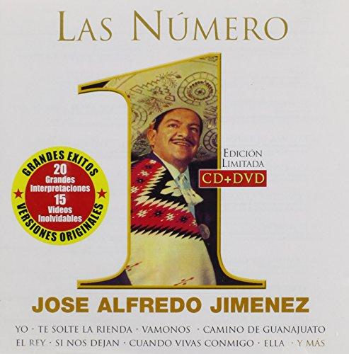 Las Numero 1 (Alfredo Jose Jimenez-dvd)