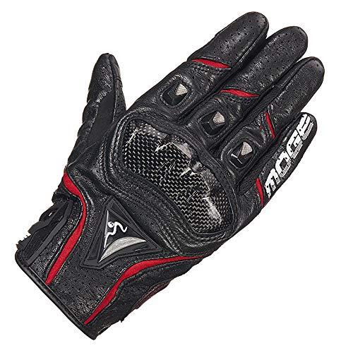 WANYI Gants Moto Homologue Certifie CE Gants Tactiles en Cuir Respirant Gants Moto Homologu/é Homme Femme Mi Saison Gants Complets de Moto de Cyclisme de Doigt L