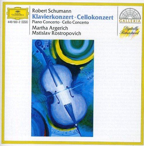 Schumann : Concerto pour piano, Concerto pour violoncelle