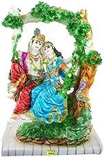 Aica Gifts Fiber Krishna Idol Statue(Multicolour)
