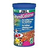 JBL 40190 Farb Hauptfutter für alle Teichfische, Farbfutter Sticks Pond Coloron, 1 l
