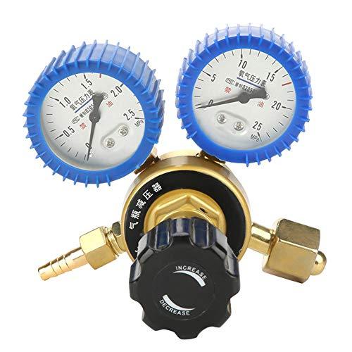 Druckregler, 0,4-25 MPa Sauerstoff-Gas-Druckminderer Luftmengenmesser-Messgerät -