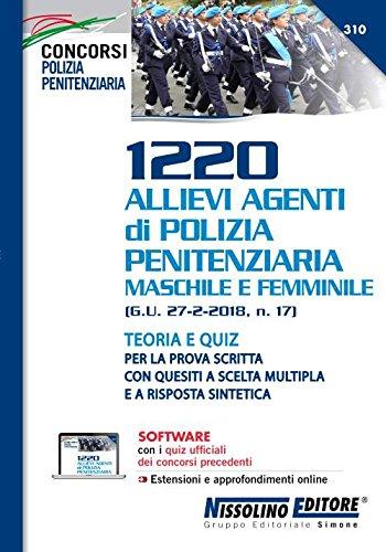 1220 Allievi Agenti di Polizia Penitenziaria Maschile e Femminile