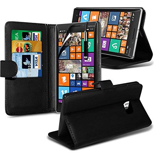 ( Blue ) Nokia Lumia 930 Tough Survivor Fest Rugged Shock Proof Heavy Duty Case W / Back-Stand, LCD-Display Schutzfolie, Poliertuch und Mini-versenkbaren Stift durch Spyrox Tasche (Schwarz)