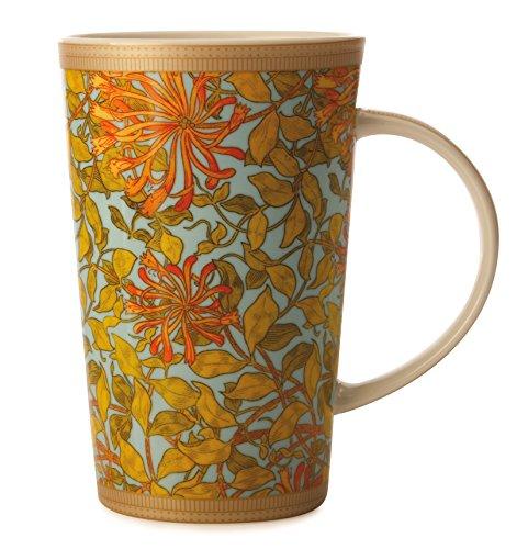 maxwell-williams-420-ml-porcelain-william-morris-honeysuckle-conical-mug