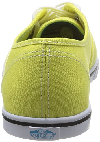 Vans U Authentic Lo Pro Vw7N7Lm, Baskets mode mixte adulte Jaune (Yellow/Cyan Blue)