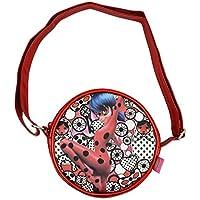 Prodigiosa: Las aventuras de Ladybug- CMM Metallic Bolso pequeño Redondo (Cife 41035)