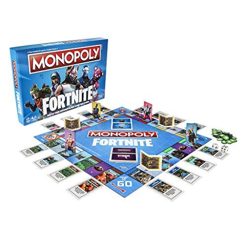 El juego de estas navidades: edición especial de Monopoly versión Fortnite