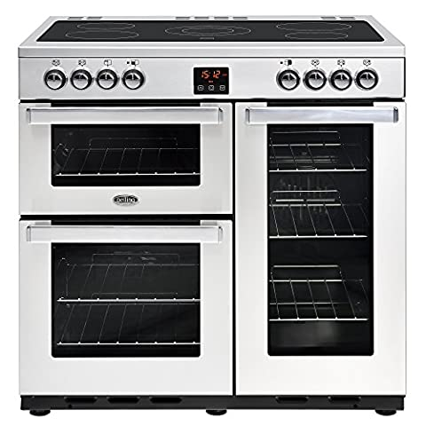 Belling 444444072 Cookcentre 90E Professional 90cm Electric Ceramic Range Cooker