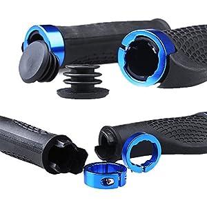 1 Pair Hot Ergonomic Design Bicycle/Cycling/Bike/Mountain Cycling Skid-Proof Grips Rubber Handlebar Grips Rubber Bicycle Anti-slip Handle Grip