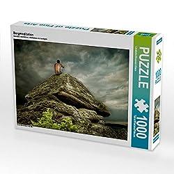 Bergmeditation 1000 Teile Puzzle quer