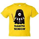 Camiseta niño Star Wars Darth Vader Minion - Amarillo, 3-4 años