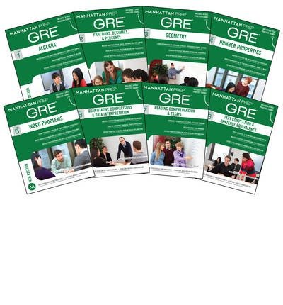 [(Manhattan Prep GRE Set of 8 Strategy Guides, 4th Edition)] [Author: Manhattan Prep] published on (June, 2014)
