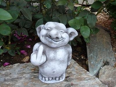 Steinfigur Troll Gnom Gartenfiguren für Garten Deko Teich FantasiefigurSteinfigur Troll Gnom Gartenfiguren für Garten Deko Teich Fantasiefigur Steinfiguren von Steinfiguren Wulfert - Du und dein Garten