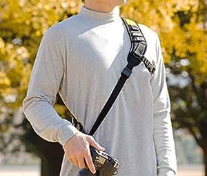 Blackrapid R-Strap RS-Sport - besonders ergonomischer Kameragurt für DSLRs u. Systemkameras
