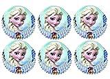 Disney Frozen (Regina di ghiaccio) 60PZ. Carta forme per cioccolatini, mini muffin, Mini Cupcakes, 4cm diametro