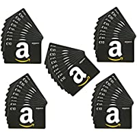 Amazon.de Geschenkgutschein im Multi-Pack - 50 Gutscheine - mit kostenloser Lieferung am nächsten Tag
