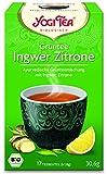 YogiTee Bio Yogi Tea Grüntee Ingwer Zitrone Bio (1 x 17 Btl)