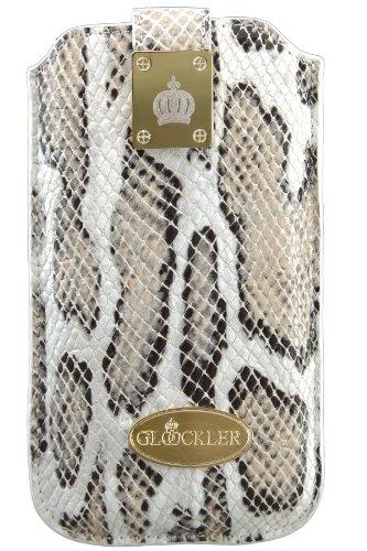Glööckler Prestige Case für Apple iPhone 5/5S/5C Größe XLS grau