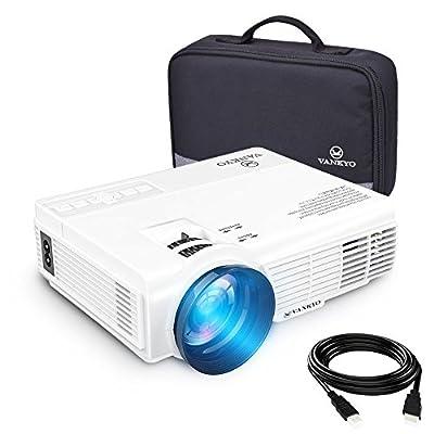 VANKYO LEISURE 3 Vidéoprojecteur Portable 2600 Lumens Rétroprojecteur LED Mini Projecteur LCD Supporte 1080P Compatible avec Fire TV Stick / PC / Télé pour Cinéma Privé / Jeu Vidéo /FIFA de VANKYO