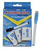 #10: Fusine™ NEW Creative Educational Aids Mathematical concepts Division, multiplication, addition, subtraction ( Maths Flash Cards with Pen )( Write & Learn ) (Multiplication)