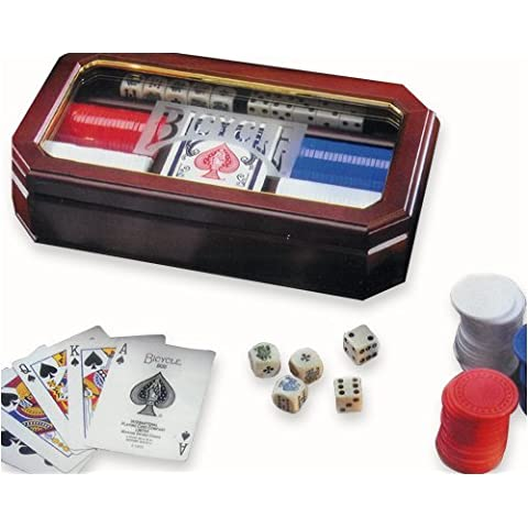 Bicycle Executive Poker Set by US Playing Cards