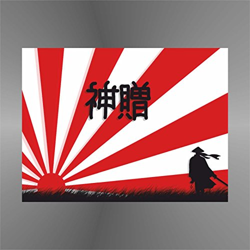 erreinge Sticker Giappone Samurai Japan Japon Japón - Decal Cars Motorcycles Helmet Wall Camper Bike Adesivo Adhesive Autocollant Pegatina Aufkleber - cm 12