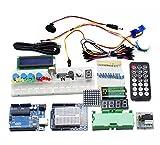 Starter Kit für Arduino, Heful UNO Projekt Starter Kit Einsteigerset mit Tutorial Uno R3 Mikrocontroller und viel Zubehör für Arduino Mega2560 UNO R3