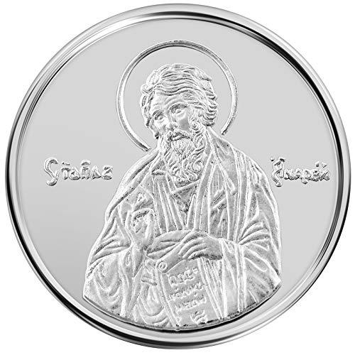 Conmemorativo Moneda Religiosa Medalla de plata San Andrés...
