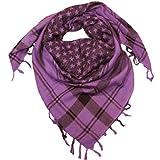 LOVARZI Damentuch Violett Sternen Halstuch für junge Männer und Frauen - Palästinenser-Schal