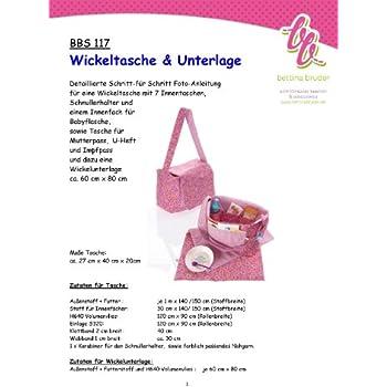 Simplicity Schnittmuster 7254 Wickeltaschen und Zubehör ...