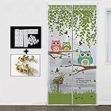 kele Sommer magnetische fliegengitter, Vorhänge, aus Stoff Magnetische Verschlüsselung Schlafzimmer Wohnzimmer Küche Wand vorhänge Weichen startbildschirm Tür-E 120x210cm(47x83inch)