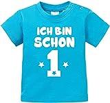 EZYshirt® Ich bin schon eins | BIO Baby T-Shirt
