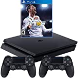 Sony PlayStation 4 1TB Console (Black) with Extra Controller and FIFA 18 Bundle