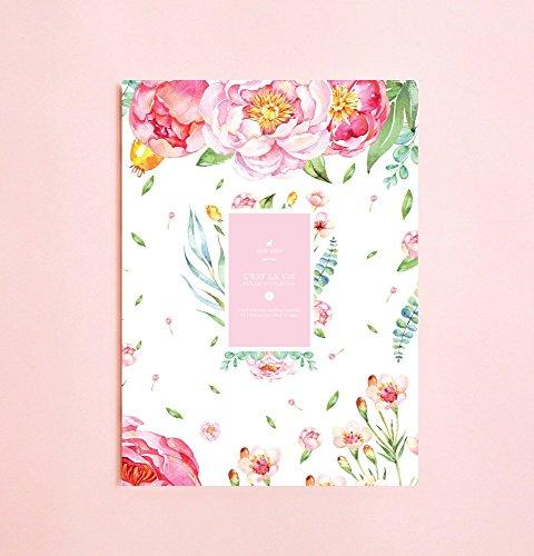 ilustracion-flores-vintage-cuaderno-de-hojas-rayadas-o-diario-o-cuaderno-para-escritores-o-planer-co
