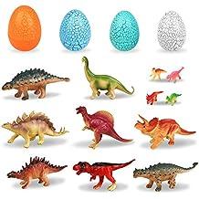 Peradix Dinosaurios con Huevos de Dinosaurios 12PCS