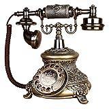 Seil antike Telefonanlage Antikes dekoratives Telefon, Handy Festnetz zu Hause kreatives Büro repariert europäischen antiken Retro Harz Telefon, 26 * 18 * 22cm eine Vielzahl von Farben in einer Vielza
