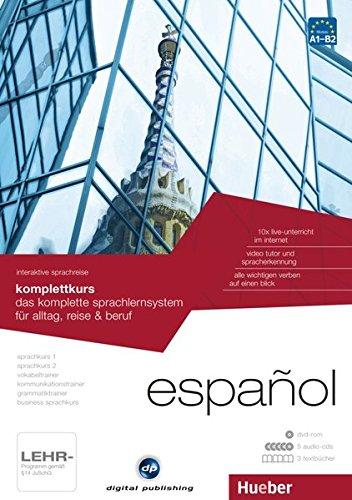 Preisvergleich Produktbild interaktive sprachreise komplettkurs español: das komplette sprachlernsystem für alltag, reise & beruf / Paket: 1 DVD-ROM + 5 Audio-CDs + 3 Textbücher