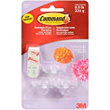 Command (TM) Party Ceiling Hooks-3 Hooks And 4 Foam Strips/Pkg