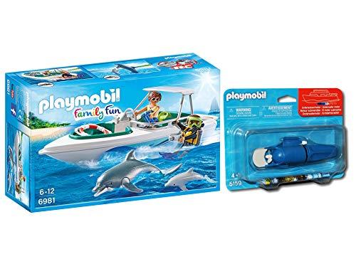 Outletdelocio.. Playmobil 6981. Barco Lancha Buceo