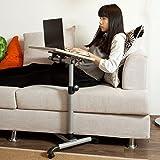 SoBuy Pflegetisch Betttisch Klapptisch Laptoptisch Beistelltisch FBT07N-W