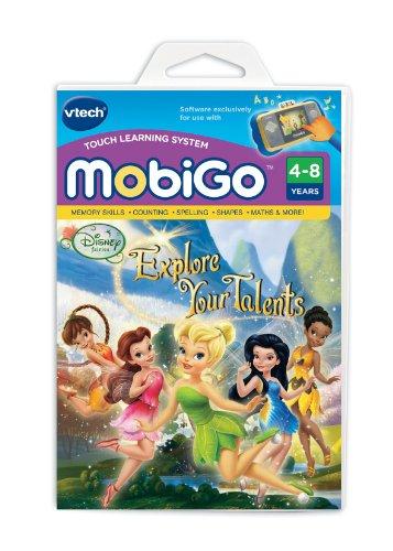 Vtech MobiGo Software Disney Fairies–Erkunden Ihre Talente
